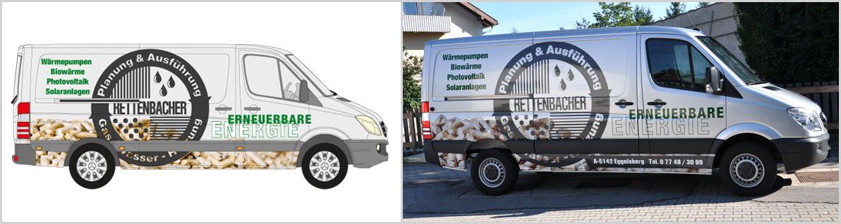 Autofolierung Fahrzeugfolierung Scheibentönung Digitaldruck Black-Mamba